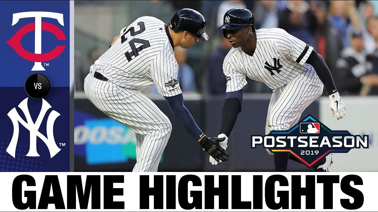 Download Didi Gregorius' grand slam powers Yankees to ALDS Game 2 to win | Twins-Yankees ALDS Highlights