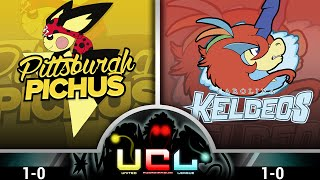 Pittsburgh Pichus VS Carolina Keldeos [UCL W2] Pokemon Omega Ruby/Alpha Sapphire WiFi Battle