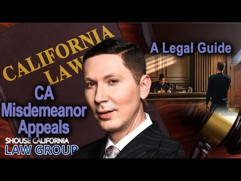 "Legal definition of a ""misdemeanor"" (former DA explains)"
