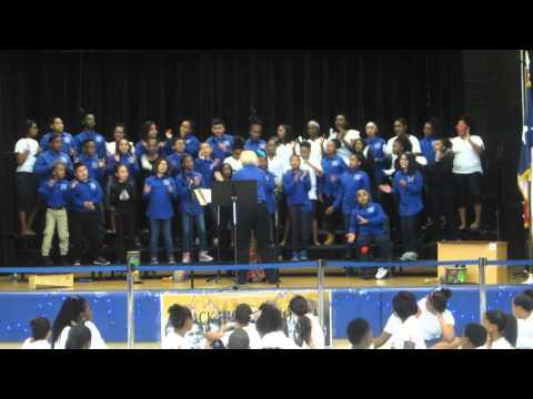 Charlton-Pollard Elementary School Choir- Rock o' my soul