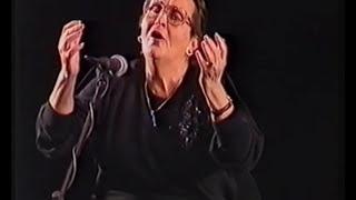 """Ladino לאדינו : Berta Aguado - La mujer de Terah 1999 תיעוד ד""""ר איציק לוי"""