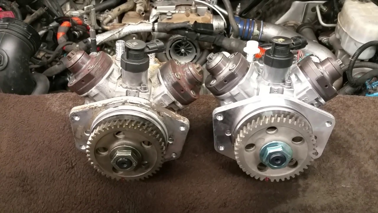 Lml Duramax Cp4 Fuel Injection Pump Youtube