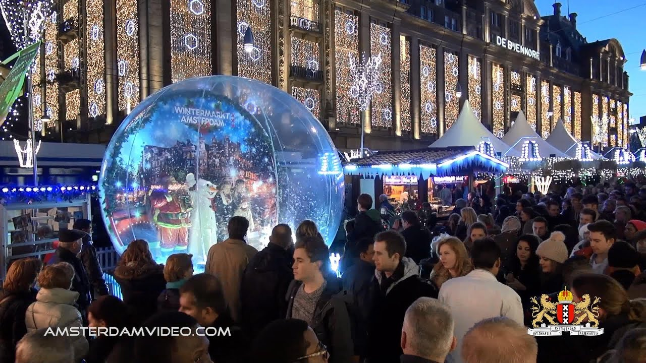 christmas market amsterdam wintermarkt 2013 hd 121413 day 1262 youtube