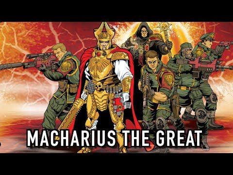 40 Facts Lore On Lord Commander Solar Macharius Warhammer 40k Youtube