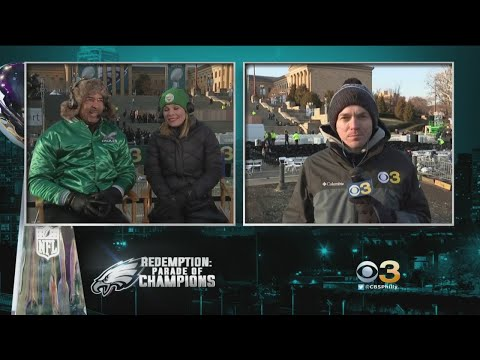 CBS3's Ukee Washington, Jessica Dean & Pat Gallen Share Favorite Eagles Championship Parade Moments