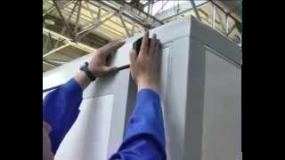 видео Холодильные двери