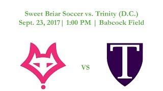 Sweet Briar Soccer vs. Trinity (D.C.)