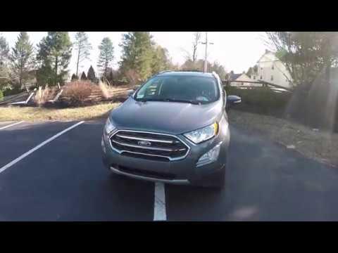2018 Ford Ecosport AWD