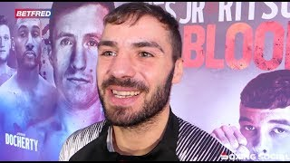 LEWIS RITSON ON DAVIES JR BAD BLOOD CLASH, POSSIBLE PROGRAIS-TAYLOR WORLD TITLE SHOT & FAN PRESSURE