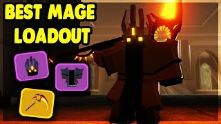 THE *BEST* POSSIBLE MAGE LOADOUT IN KINGS CASTLE | Roblox: Dungeon Quest