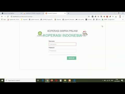Aplikasi Koperasi Simpan Pinjam Berbasis Web - Free Source Code