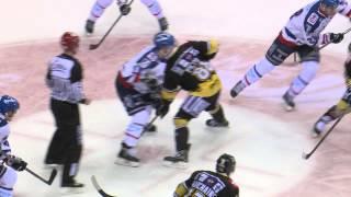 Kabinettstückchen: Spiel Krefeld Pinguine - Adler Mannheim 03.01.2014