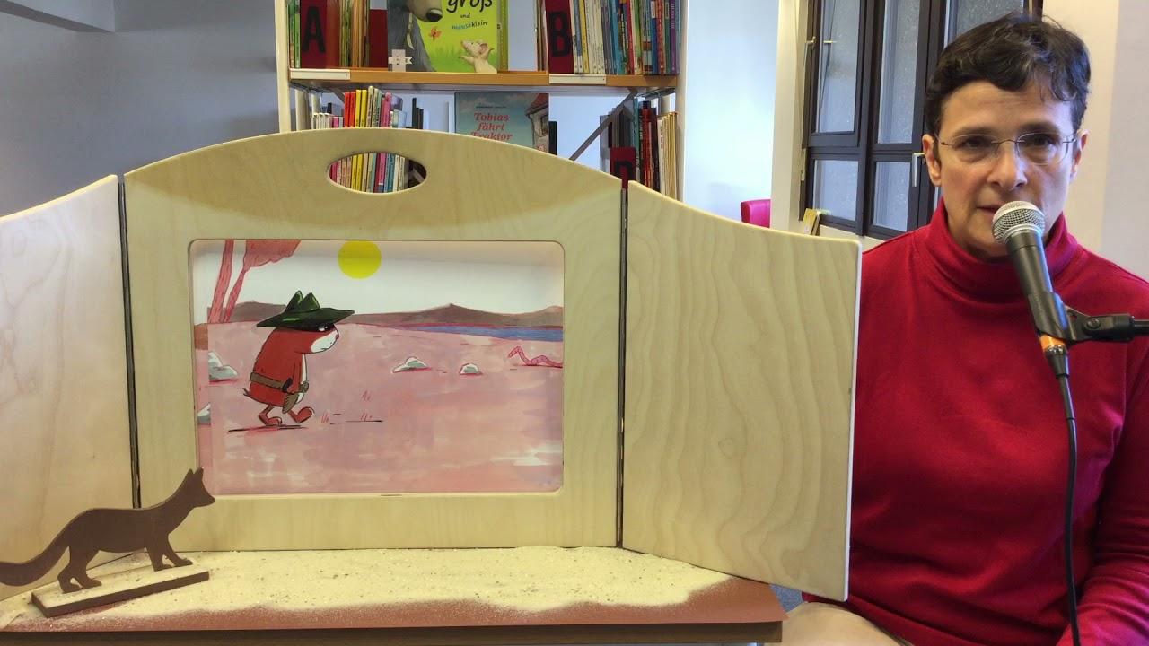Kamishibai mit der Kinderbücherei