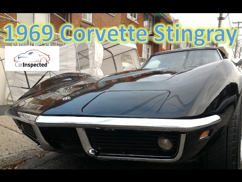 1969 Corvette Stingray Inspection before buying, Montreal, Quebec
