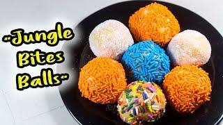 No-bake Jungle Bites Balls munchkins