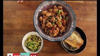видео Рецепт Салат з копченої курки і огірків