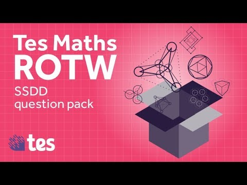 Same Surface Different Deep Problems Question Set 1 - TES Maths Resource of the Week