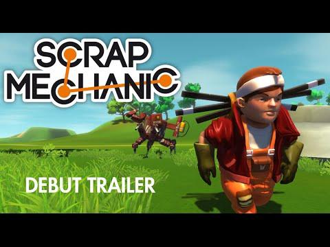 Scrap Mechanic - Debut Trailer 2014 (Alpha)