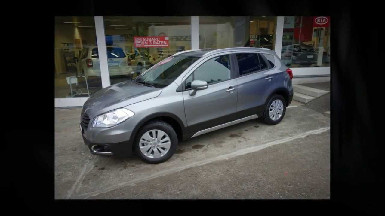 suzuki sx4 s cross 1 6 gl 4wd suv gel ndewagen garage zimmerli ag youtube. Black Bedroom Furniture Sets. Home Design Ideas