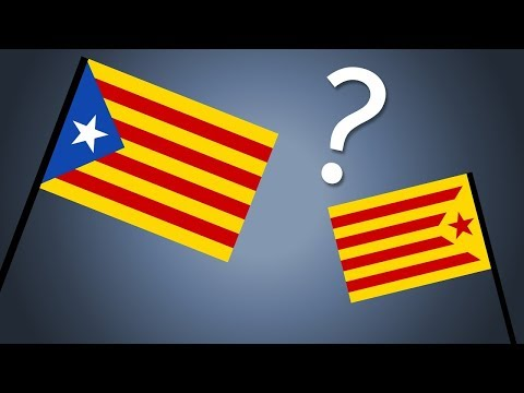The History and Meaning Behind Catalonia's Flag(s)