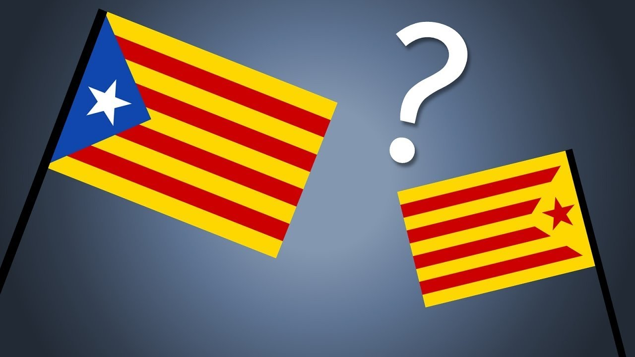 The History And Meaning Behind Catalonias Flags Youtube
