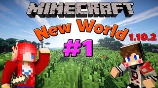 Minecraft มายคราฟ : New World # 1 โลกใหม่กับบ้านต้นไม้ Ft.Taejk