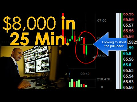Day Trading for $8,000 in 25 minutes! - Meir Barak