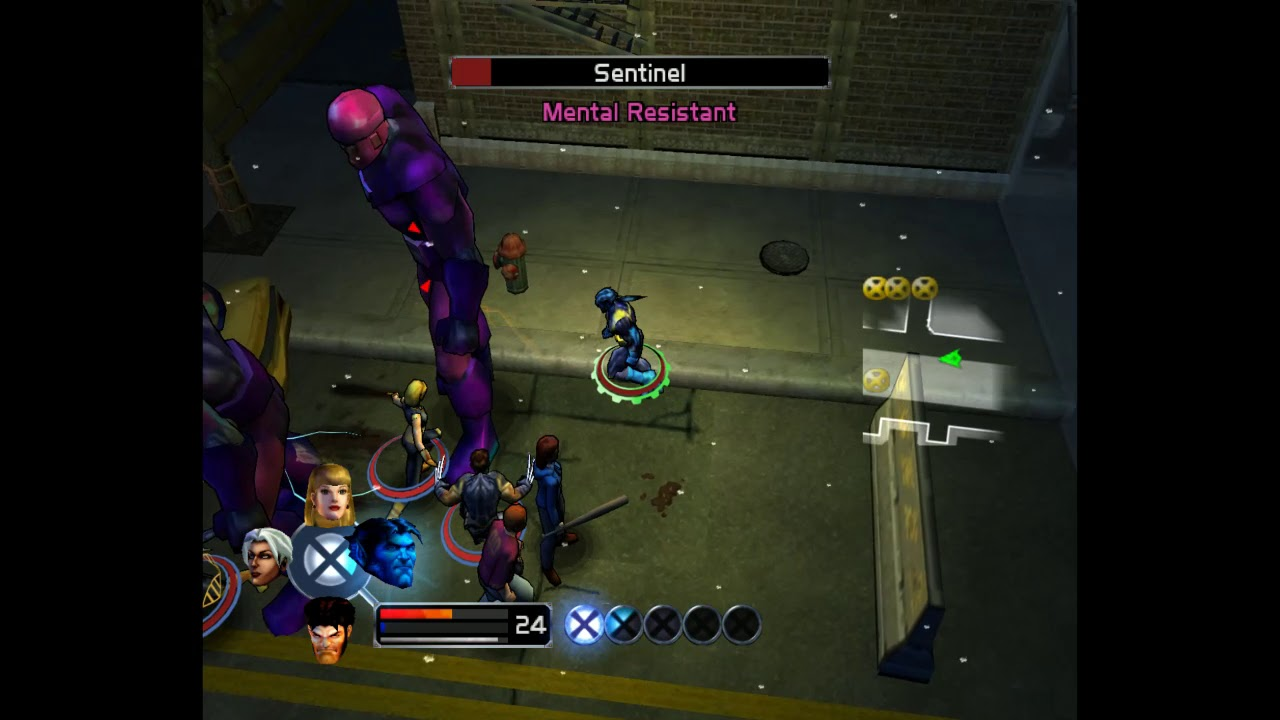 X-Men Legends HD - #14 NYC Riot, Muir Island