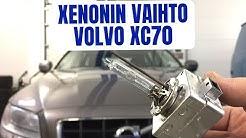 Volvo XC70 - Xenon-ajovalonpolttimon vaihto itse