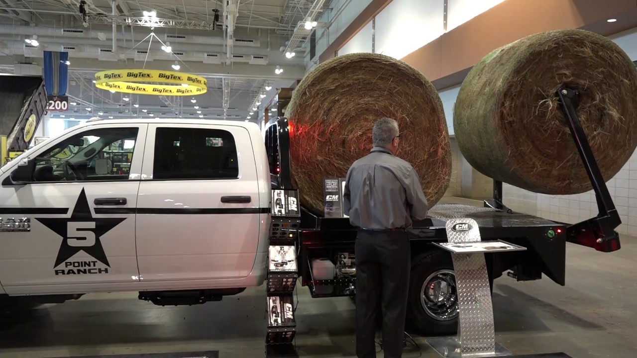 NATDA Convention 2016 Part 5 With Big Tex CM Flatbeds And Jack E Up Jack  Storage