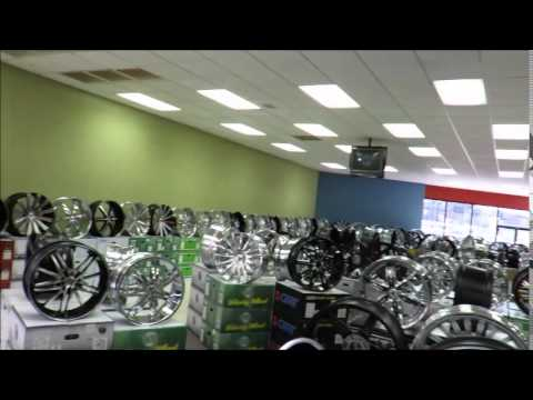 Tire Wheel Mart Houston Tx Youtube