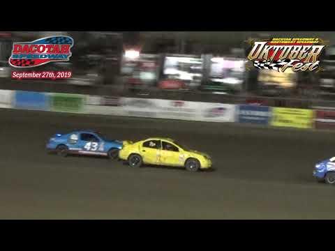 Dacotah Speedway IMCA Sport Compact Races (Oktoberfest) (9/27/19)