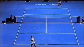 サンプラス vs アガシ 1991 ATP Tour World Championships