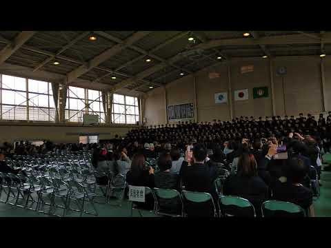 卒業式合唱「正解」186人の感動の歌声