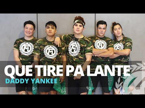 QUE TIRE PA LANTE by Daddy Yankee | Zumba | Reggaeton | TML Crew Kramer Pastrana