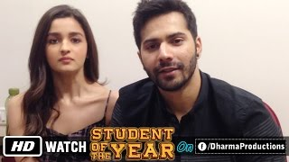 Student Of The Year on Facebook - Varun Dhawan, Alia Bhatt