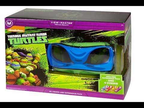 The VR Shop - Unboxing & Hands on Review - View-Master Teenage Mutant Ninja Turtles
