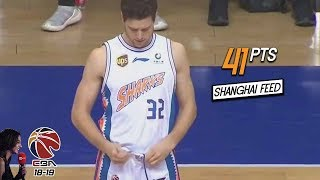 Jimmer Fredette 41 Pts Full Highlights vs 浙江 (11.12.18) Too Easy! [1080p]
