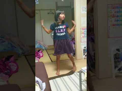 Perfume「Magic of Love」を娘に踊ってもらった。
