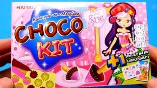 Make Your Own Chocolate  - Choco DIY Kit - Sue From HAITAI