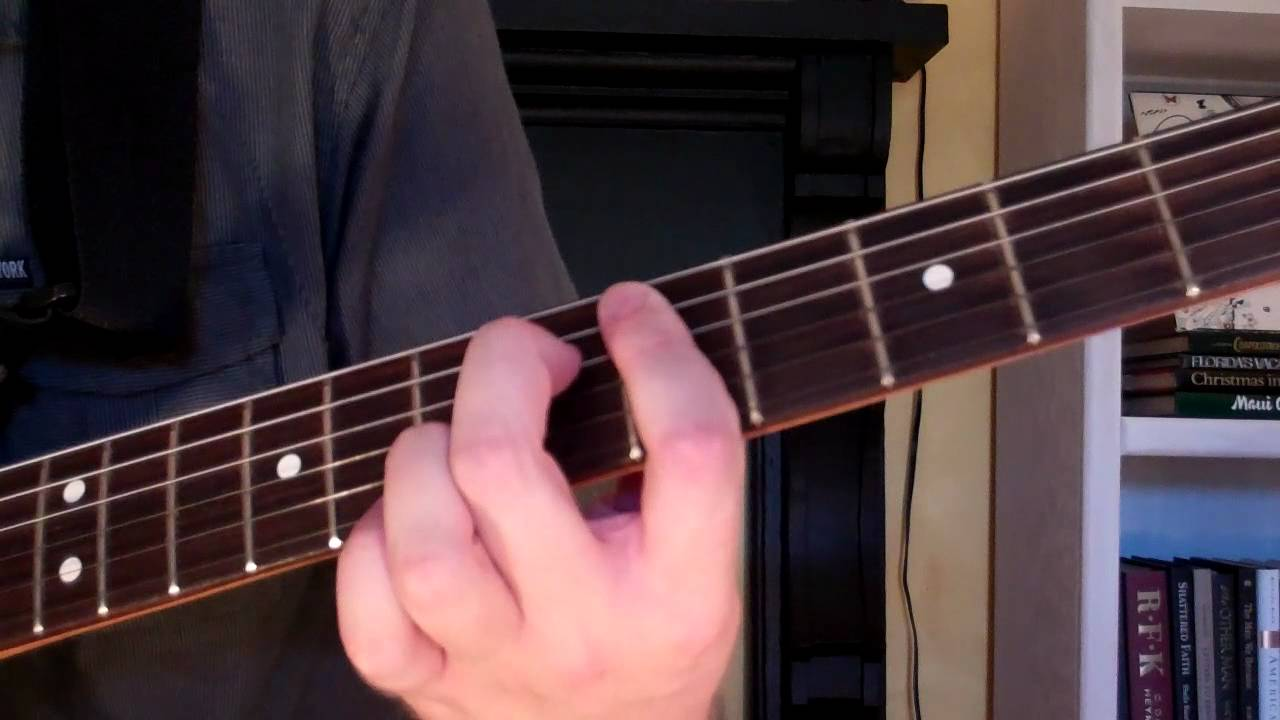 How To Play The D7 5 Chord On Guitar D 7th Diminished 5th Youtube