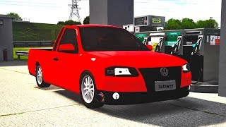Live for Speed - Saveiro G4 1.6 turbo escape direto!