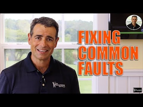 Common Golf Swing Faults and Fixes