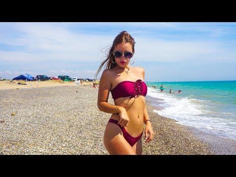 Где в Крыму можно прожить у моря всё лето в палатке или машине? Пляж мечты под Евпаторией!