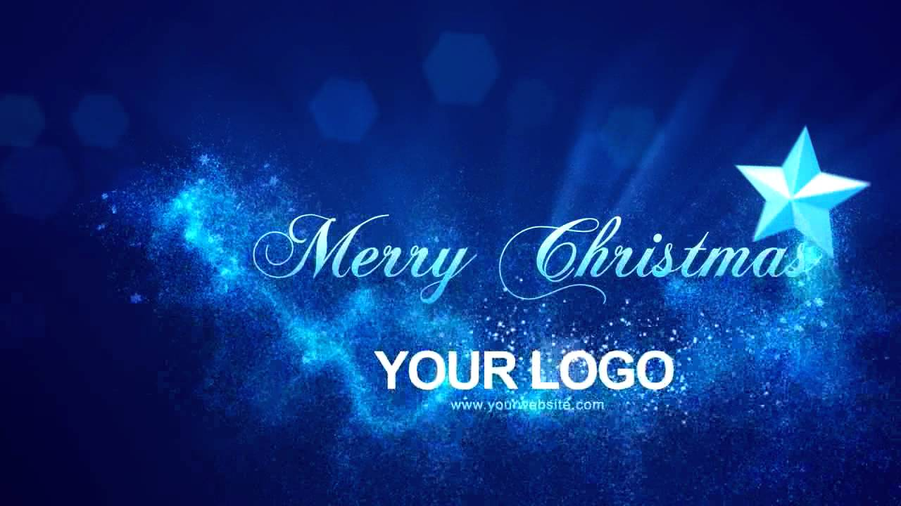 Merry Christmas Intro After Effects Templates - YouTube
