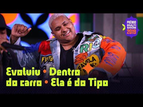 """MEDLEY Kevin O Chris- """"Evolui""""  """"Ela é do Tipo""""   AO VIVO no Prêmio Multishow 2019"""