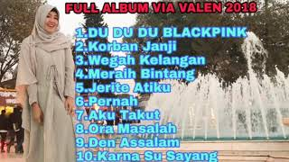 COVER VIA VALEN TERBARU | FULL ALBUM 2018