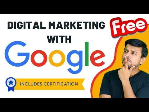 Google Free Digital Marketing Course | Free Certification | Google Digital Garage