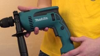 Ударная дрель Makita HP1641FK(Видеоролик демонстрирующий ударную дрель Makita HP1641FK. Получить дополнительную информацию или приобрести..., 2013-01-31T15:36:28.000Z)