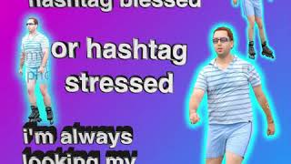 hashtag stressed